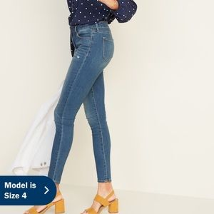 Old Navy Jeans - Old Navy distressed Rockstar super skinny jeans
